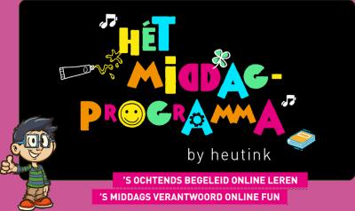 Leuk (online) middagprogramma voor kinderen!